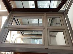 Wir liefern auch die Fenster für die Mietshäuser