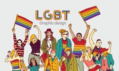 LGBT graphic design: the art of logo and print design from a queer perspective - What Is Graphic Design, Graphic Design Illustration, Art Photography Portrait, Political Posters, Queer Art, Gay Art, Creative Inspiration, Cover Design, Print Design