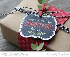 For the Love of Paper: MFT October Release Countdown: brown paper packages tied up with string