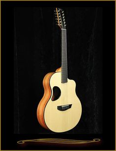 McPherson MG-4.5XP 12 String in Pau Rosa with Red Spruce Top 2016 Natural