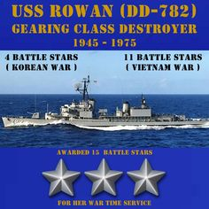 8d3e056266452 USS Rowan (DD-782) CLICK ONTO THE PHOTO. POSTERS