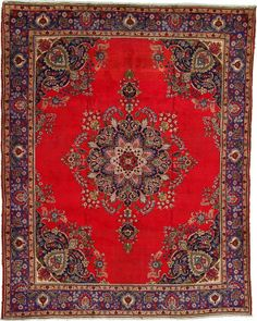 9' 9 x 12' 4 Tabriz Rug  on  Daily Rug Deals
