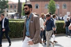The Florentine Gentleman Who Rule Pitti Uomo Street Style - -Wmag