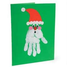Image Search Results for preschool handprint christmas crafts