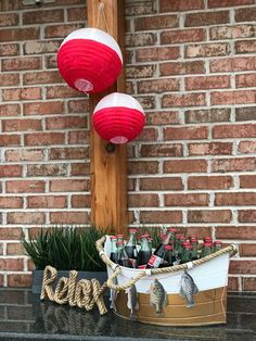 Dulce Party Design's Birthday / Fishing - Photo Gallery at Catch My Party Retirement Party Gifts, Retirement Party Decorations, Fish Party Decorations, Boys First Birthday Party Ideas, Baby Boy Birthday, 6th Birthday Parties, Fish Centerpiece, Fishing Wedding, Adoption Party