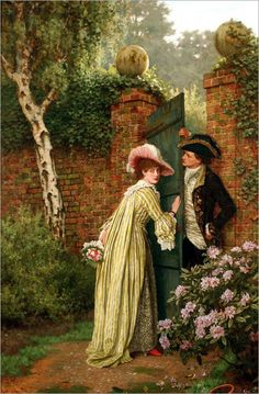 Charles Haigh Wood (english, 1854-1927)- The Tryst