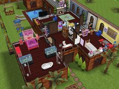 Home by the beach (Second Story: Part 2) #thesims #simsfreeplay #housedesign  #designedbyjade xx