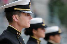 Naval Academy Midshipman, USNA Color Parade, May 23rd, 2012