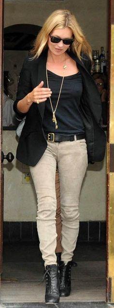 Pants and boots - Balmain Belt - Mulberry Sunglasses - Ray Ban More Balmain...