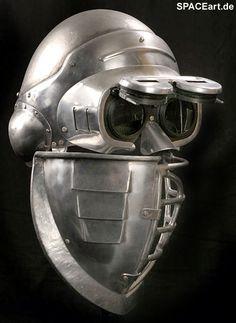 Alien 3: Security Commando Helmet, Fertig-Modell ... https://spaceart.de/produkte/al134.php