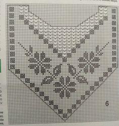 Crochet Yoke, Filet Crochet Charts, Crochet Blouse, Love Crochet, Weaving Patterns, Crochet Patterns, Crochet Curtains, Tapestry Weaving, Crochet Projects