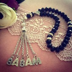 Islamic Gifts, Prayer Beads, Tree Branches, Diy And Crafts, Jewelery, Art Pieces, Prayers, Velvet, Mens Fashion
