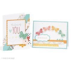 Close To My Heart Workshops Your Way® Dreamin' Big Scrapbooking Kit cards created with Dreamin' Big - Cardmaking Bundle #CTMH www.maz.closetomyheart.com.au