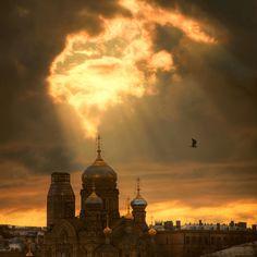 Знамение ...и снизошёл свет by Евгений Кондрашков via 35photo