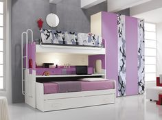 Spar Italian Kids Bedroom Set ONE 601 - MIG Furniture
