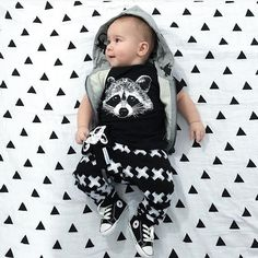 2017 New Summer baby boy clothes short-sleeved fox avatar baby Romper baby girl clothes newborn clothing set - Kid Shop Global - Kids & Baby Shop Online - baby & kids clothing, toys for baby & kid