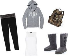 Love this back to school and cosy outfit super cute and comfy. Who doesn't like uggs?