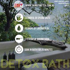Day 3 Task | Have A Detox Bath