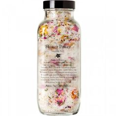 Flower Power Healing Salts & Flowers