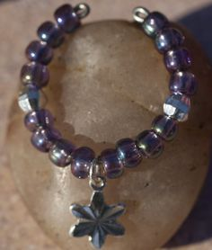 Iridescent Beads - Sugar Plum