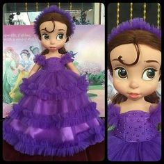 Disney-Baby-doll-clothes-dress-clothing-Animators-collection-Princess004