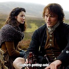 You are my home now.... — sawyrfords:   Outlander Gag Reel [2/?]