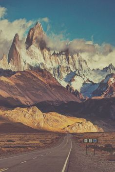 Went there once. A storm lifted the roof off the hostel.  Patagonia. Fitz roy.