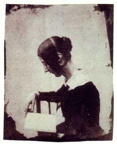 William Henry Fox Talbot  Henrietta Horatia Maria Feilding  c. 1845