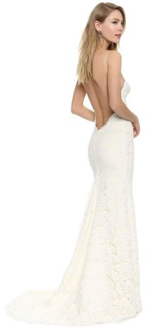 Katie May Poipu Low Back Gown | 15% off first app purchase with code: 15FORYOU