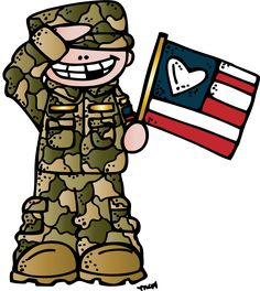 Community Helpers Preschool Discover Melonheadz Illustrating Always in my heart. Veterans Day Clip Art, 4th Of July Clipart, Community Helpers Preschool, Military Drawings, Halloween Clipart, Pencil And Paper, Patriotic Decorations, Polymer Clay Art, Months In A Year
