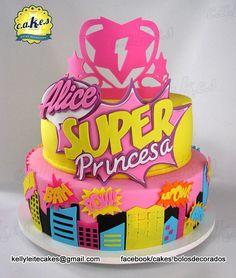 Bolo Barbie Super Princesa Barbie in Princess Power Cake