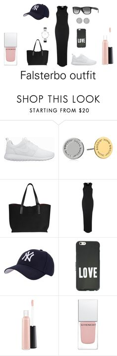 """""""#7"""" by misskotte on Polyvore featuring NIKE, Marc by Marc Jacobs, Hartford, Givenchy and MAC Cosmetics"""