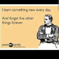 haha, glad it isn't just me!!!