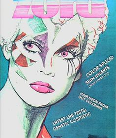 ZORA Magazine cover from Blade runner