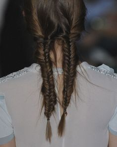 Why have one when you can have two? Double fishtail