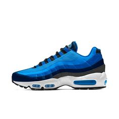 713944432db20a Nike Air Max 95 iD Men s Shoe Size 12.5 (Blue)
