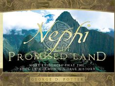 Nephi in the Promised Land - Book