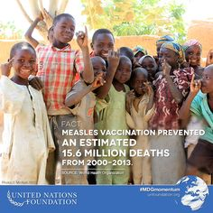 Since 1990, child deaths have been reduced by nearly 50%, and vaccines that protect children against deadly and preventable diseases are a huge part of the reason for this progress.