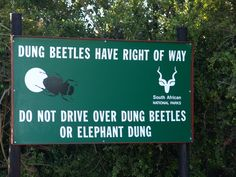 You see some interesting road signs in South Africa. BelAfrique - Your Personal Travel Planner - www.belafrique.co.za