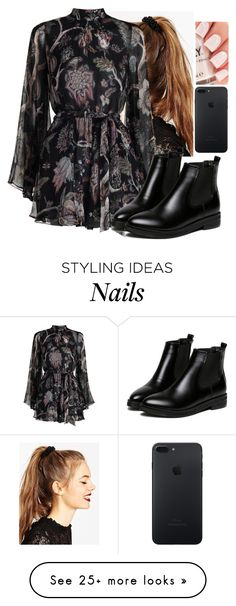 """""""Untitled #4104"""" by hannahmcpherson12 on Polyvore featuring ASOS, Zimmermann and WithChic"""