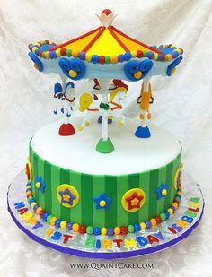 Carousel Cake by quaintcake, via Flickr