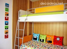 simple monsters kids room - very effective!