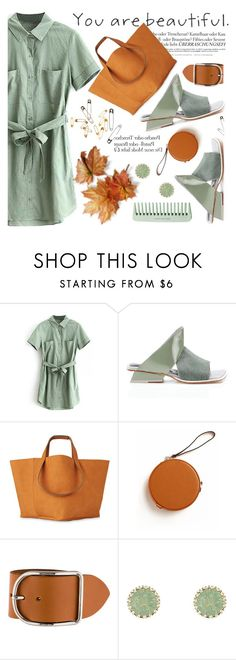 """In Love With Shirt Dress"" by jiabao-krohn ❤ liked on Polyvore featuring Abcense, Melissa, Hermès, Charlotte Russe, Spring, shirtdress, totebag, springdress and Dressunder50"