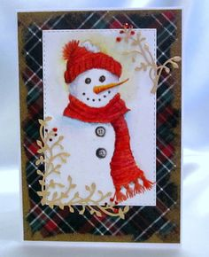 Pretty Paper Junkie: Old Frosty