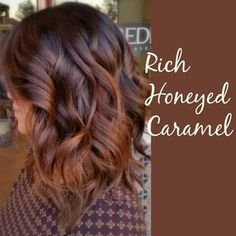 Rich honeyed caramel