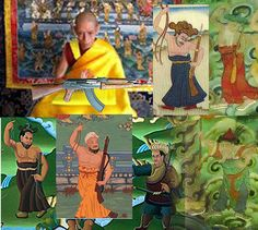 The so-called Ten Armed Youths: do Buddhists really need armed thugs for protection? #西藏 #北京 #尼泊尔 #不丹 #活佛 #观音 #文殊 #喇嘛 #保佑 #仪轨 #西藏 #藏传佛教 #达赖喇嘛 #班禅喇嘛 #王子