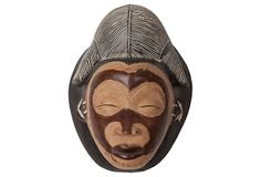 Punu Tribal Mask