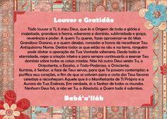 Oração Bahá'í - Louvor e Gratidão - www.bahai.org.br
