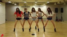 EXID 'Up & Down' mirrored Dance Practice 2014