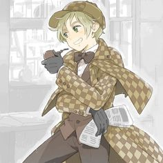 Sherlock Holmes England! combined the two and i will die happy